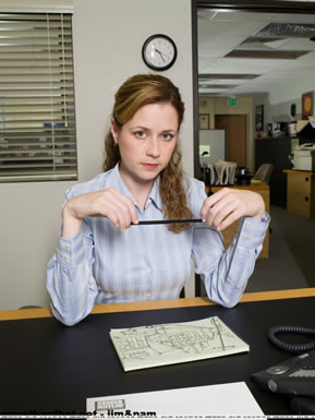 Pam halpert from the office - How many episodes of the office ...