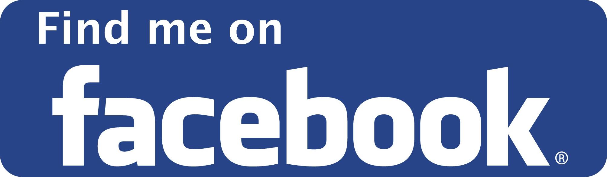 Follow me on Facebook Logo Find me on Facebook