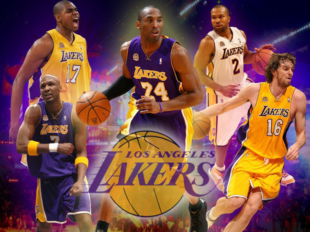 Los Angeles Lakers Home Page