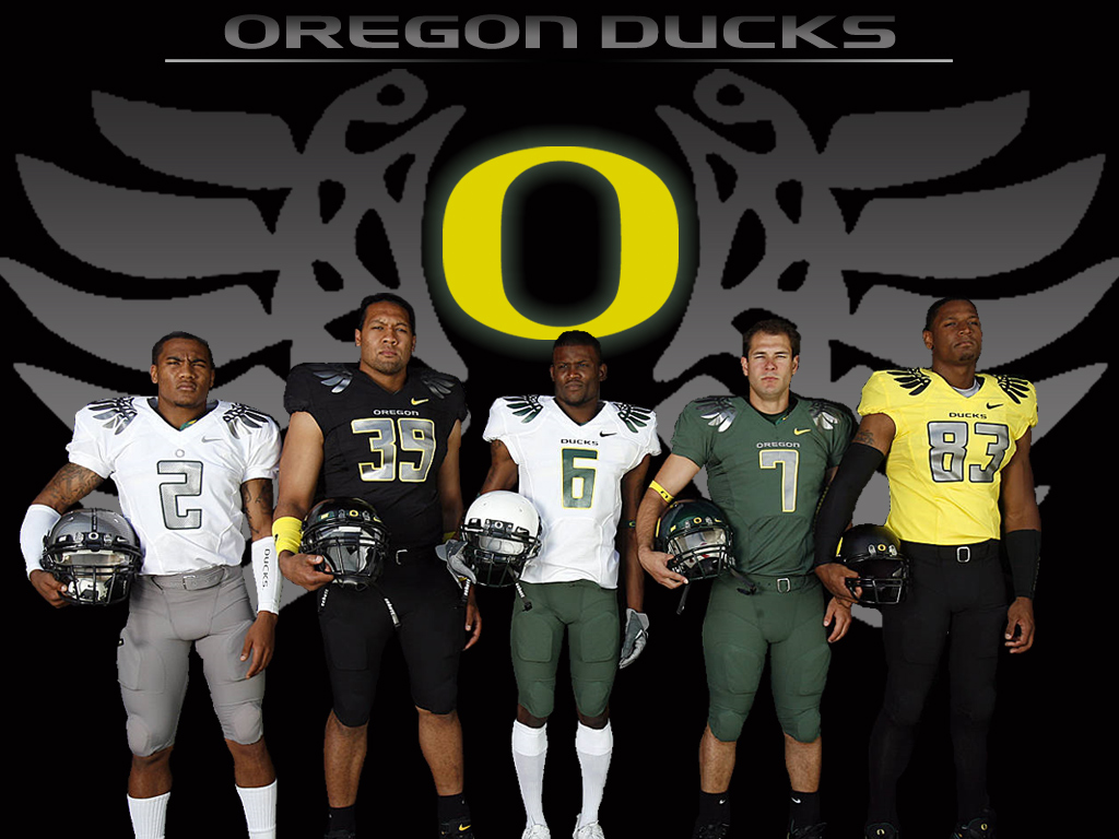 Oregon Football Uniforms All