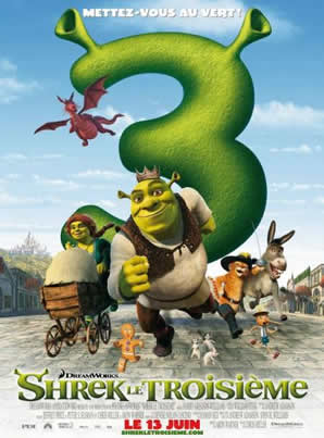 Shrek The Third Home Page